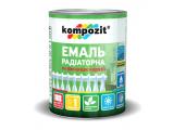 Фото  1 Эмаль акриловая радиаторная Kompozit матовая 0,75 л белый 2038870