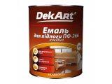 Фото  1 Емаль Dekart ПФ-266 червоно-коричнева 2,8 кг 2256910