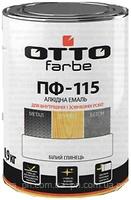 Емаль ОТТО олейно-фталева ПФ-115 0,9кг