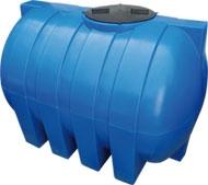 Емкость горизонтальная овальная G -1000 объем: 1000 литров