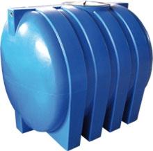 Емкость горизонтальная овальная G -1500 объем: 1500 литров