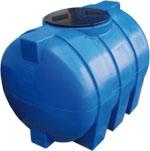 Емкость горизонтальная овальная G -500 объем: 500 литров