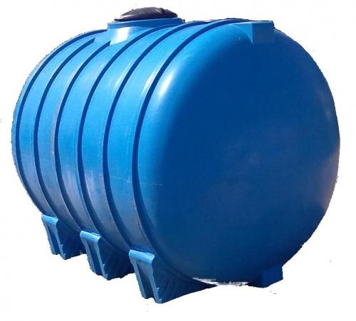 Емкость горизонтальная овальная G -5000 объем: 5000 литров