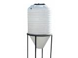 Фото  2 Емкость конусная 2200 литров бак без подставки бункер, силос 2095592