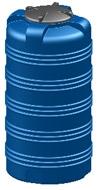 Емкость вертикальная V-505 объем: 500 литров