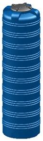 Емкость вертикальная V-990 объем: 990 литров