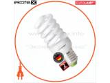 Энергосберегающая лампа EUROLAMP T2 Spiral 12W E27 4100K 700Lm