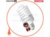 Энергосберегающая лампа EUROLAMP T2 Spiral 25W E27 2700K 1650Lm