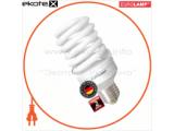 Энергосберегающая лампа EUROLAMP T2 Spiral 30W E27 2700K 2000Lm