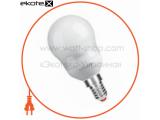 Энергосберегающая лампа MAXUS New Globe 11W, 2700K, E14