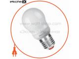 Энергосберегающая лампа MAXUS New Globe 11W, 2700K, E27