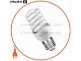 Энергосберегающая лампа MAXUS T2 Full spiral 15W, 2700K, E27