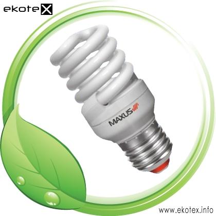 Энергосберегающая лампа T2 Full Spiral 20W, 4100K, E27