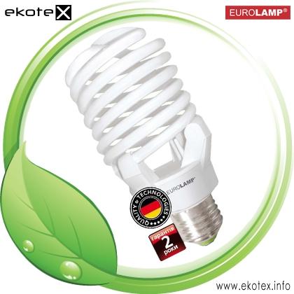 Энергосберегающая лампа T4 Spiral 120W 6500K E40 NEW