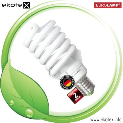 Энергосберегающая лампа T5 Spiral 80W 6500K E40