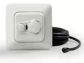 Ensto ECO16FD Терморегулятор для установки на DIN рейку, 16A, IP 20