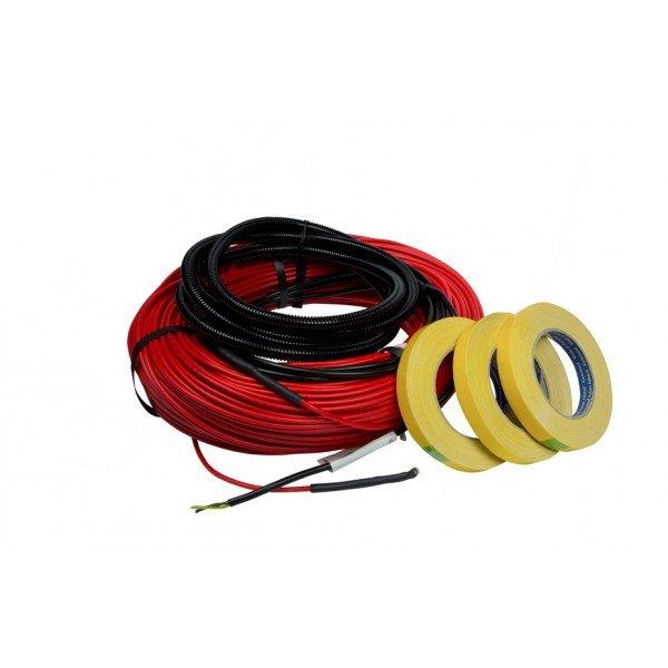 Фото  1 Тонкий нагревательный кабель Thinkit 130Вт, 0,9-1,6м.кв., Ensto (Финляндия) 1884455