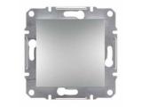 Фото  1 Выключатель одноклавишный 10A Schneider Electric Asfora EPH0100161, алюминий 1925919