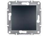 Фото  1 Выключатель одноклавишный 10A Schneider Electric Asfora EPH0100171, антрацит 1925922