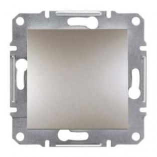 Фото  1 Выключатель кнопочный 10А Schneider Electric Asfora EPH0700169, бронза 1925951