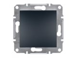 Фото  1 Выключатель кнопочный 10А Schneider Electric Asfora EPH0700171, антрацит 1925952
