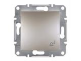 Фото  1 Выключатель кнопочный ЗВОНОК 10А Schneider Electric Asfora EPH0800169, бронза 1925957