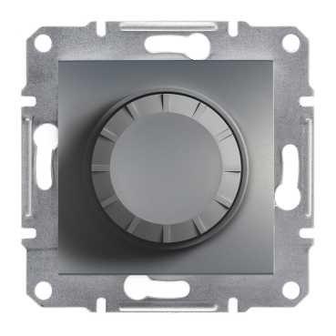 Фото  1 Светорегулятор поворотный 600ВА Schneider Electric Asfora EPH6400162, сталь 1926140
