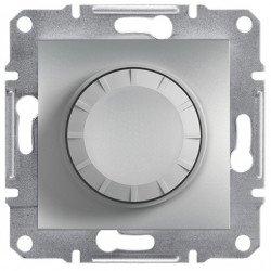 Фото  1 Светорегулятор поворотный 315ВА, проходной Schneider Electric Asfora EPH6600161, алюминий 1926145
