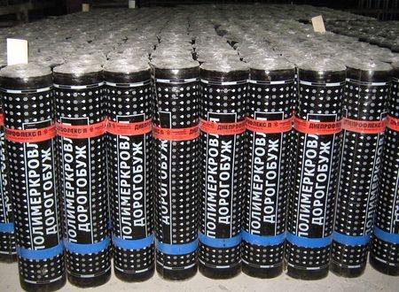 Еврорубероид Днепроизол ХКП-3,5 (стеклохолст, крошка/ пленка, 10м), кровельный.