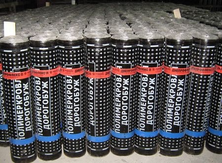Еврорубероид ХП-1,5 (стеклохолст, пленка/пленка, 15м)