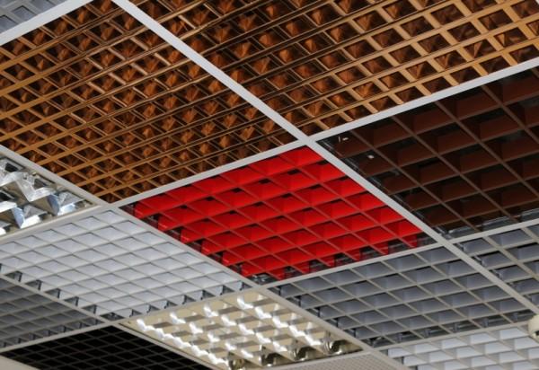 Алюминиевые потолки ГРИЛЬЯТО