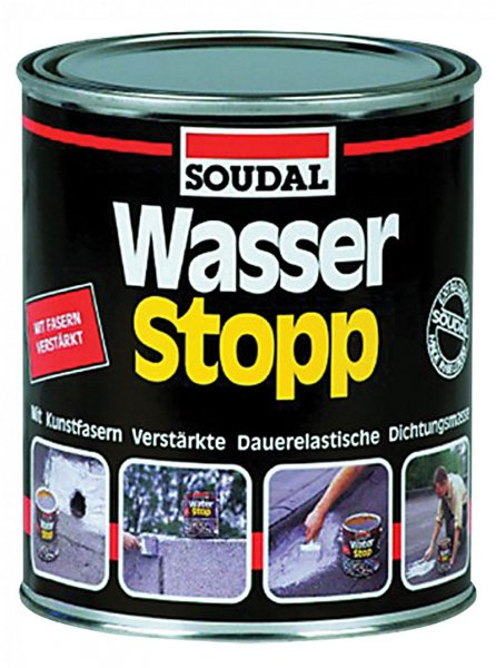 Фото  1 Soudal Wasser Stopp водонепроницаемое эластичное уплотнение 1811881