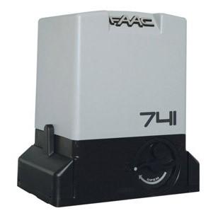 FAAC 741. Электропривод с магнитными концевиками для откатных ворот