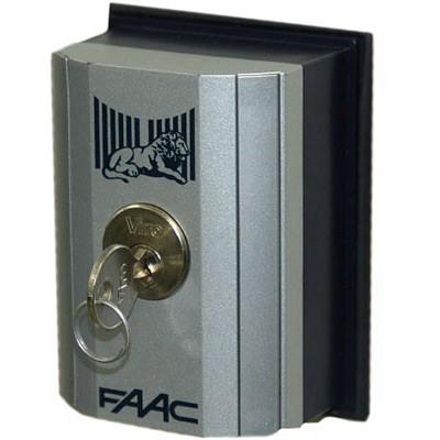Faac T10E. Ключ-выключатель накладной