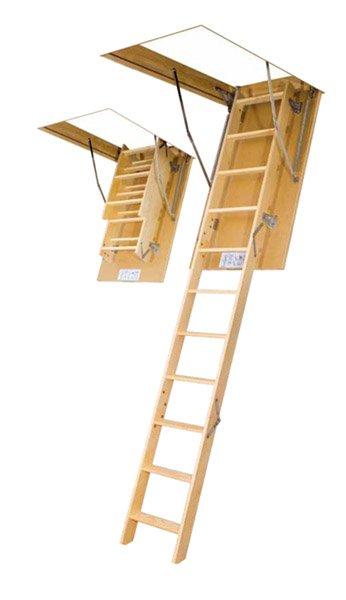 Фото  1 Лестница на чердак LWS Fakro (60*120-размер отверстия в потолке, 280-высота помещения). 1401212