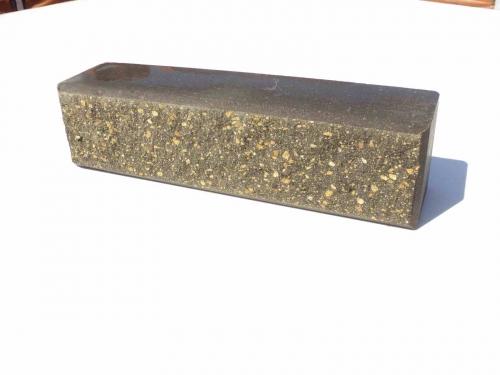 Фактура Колотый с фаской, Колотый, кирпич узкий размер 250*60*65мм, (цвет желтый), бордо, серый, красный, шоколад.