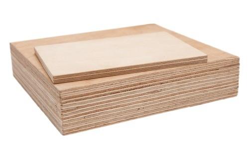 Фанера ФК 4 мм березовая клееная, лист формата 1525х1525 мм, сорт 3/4 со склада в Харькове. Порезка, доставка.