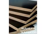 Фанера ФЛ ламинированная, берёзовая, формат 2500х1250, сорт F/F, толщина 12 мм