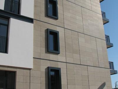 Фасад керамогранит. Облицовка, отделка фасадов керамогранитом с утеплением каменной ватой.