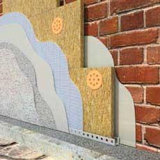 Система утепления фасадов BAUMIT. Клей для приклейки ПСБС-плит.