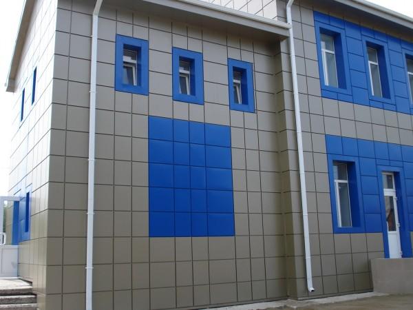 Фасад навесной вентилируемый. Полная комплектация фасада за 1 м. кв. Доставка по Украине