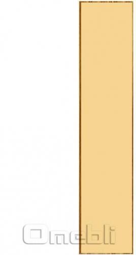Фасад UK-30 ДСП глянец бежевый  венге A10276