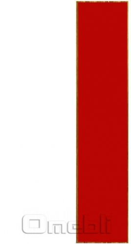 Фасад UK-30 ДСП глянец красный  венге A10282