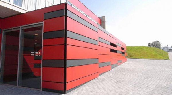Фото 1 Провітрюватись фасади з композитних алюмінієвих панелей 339422