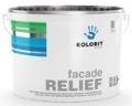 fasade RELIEF Структурная воднодисперсионная атмосферостойкая акрилатная краска для наружных и внутренних работ
