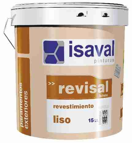 Фото  1 Фасадная акриловая гладкая краска Ревисаль Лисо 15л до 110м2 2079617