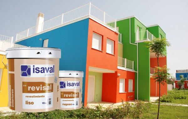 Фасадная акриловая гладкая краска Ревисаль Лисо 15л до 110м2
