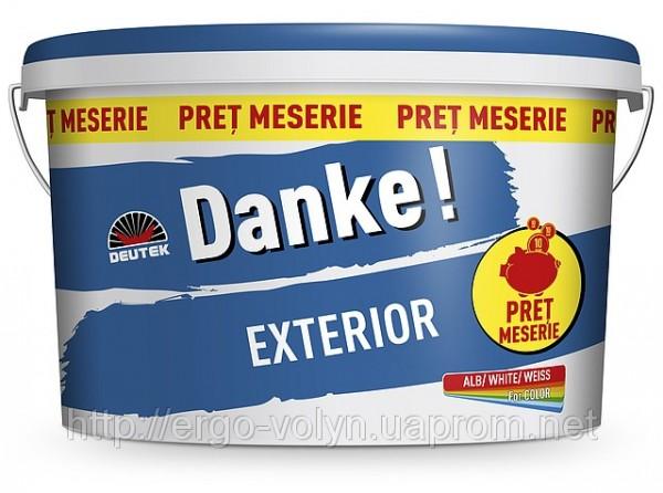 фасадная краска Danke Exterior (15л)