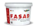 Фото  1 Фасадная краска Kompozit FACADE LATEX матовая 7 л белый 2038792