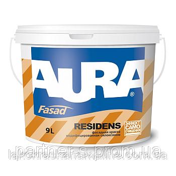 Фото  1 Фасадная краска модифицированная силиконом Fasad Residens Luxpro Aura Eskaro (2,7л) 1843664